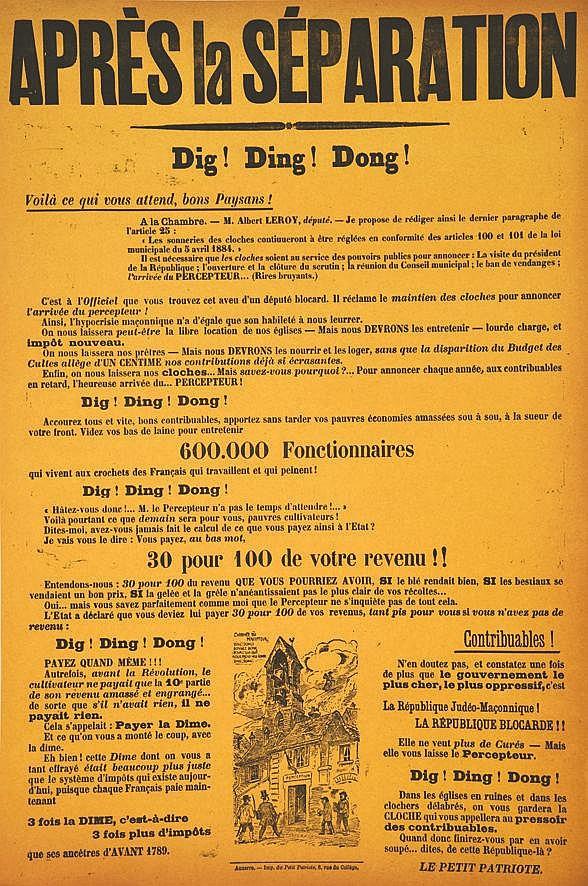 MILLO R.E.  Après la Séparation Dig ! Ding ! Dong !     1905
