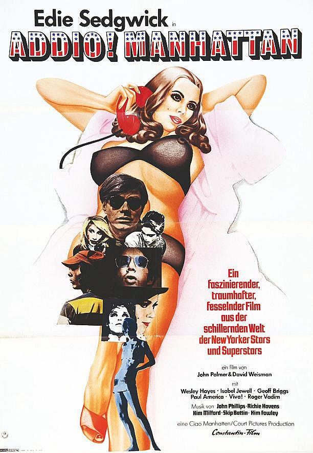 FSK Addio! Manhattan ( Ciao ! Manhattan) Titre Français 1972