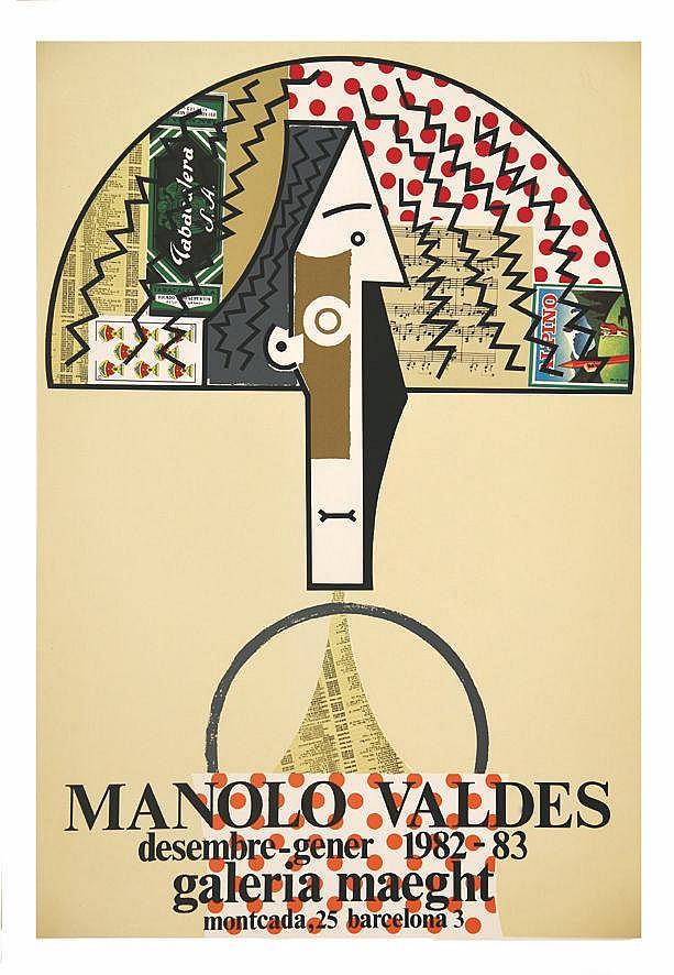 VALDES MANOLO  Manolo Valdes 1982-1983 - Galeria Maeght Barcelona     1982 - 1983