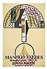 VALDES MANOLO  Manolo Valdes 1982-1983 - Galeria Maeght Barcelona     1982 - 1983, Manuel Valdés, €300