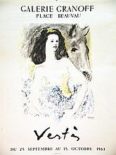 VERTES MARCEL  Vertès Galerie Granoff     1963