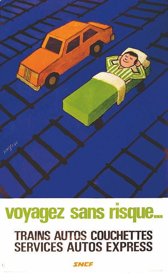 SAVIGNAC RAYMOND  Voyagez sans risque     vers 1960