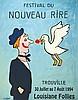 SAVIGNAC RAYMOND  Festival du Nouveau Rire Trouville     1994, Raymond Savignac, €200