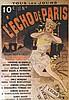 CHERET  L'Echo de Paris     vers 1900, Jules Cheret, €200