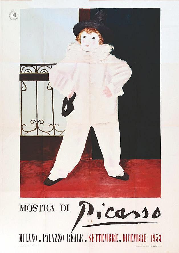 PICASSO PABLO  Mostra Picasso Milano Palazo Reale     1953