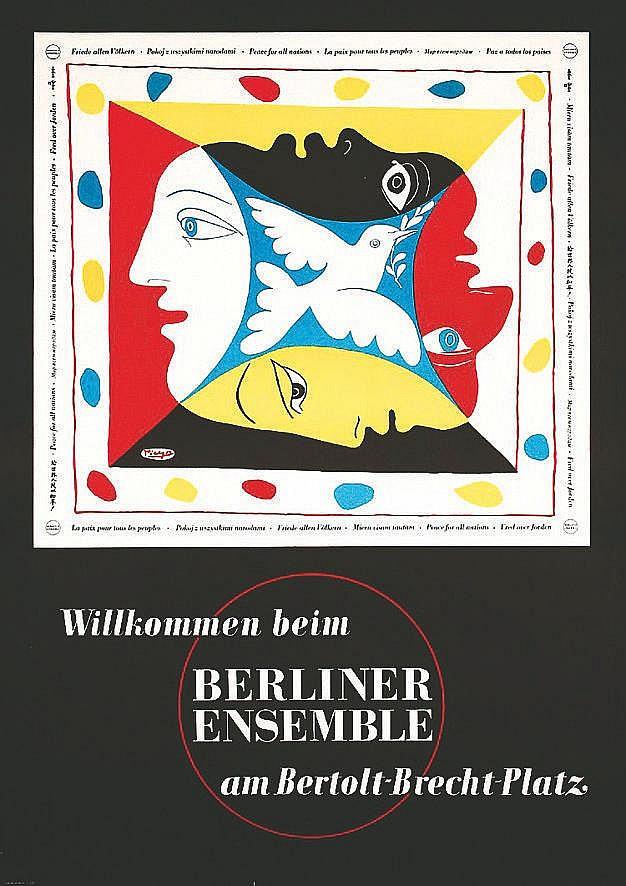 PICASSO PABLO  Berliner Ensemble     vers 1950