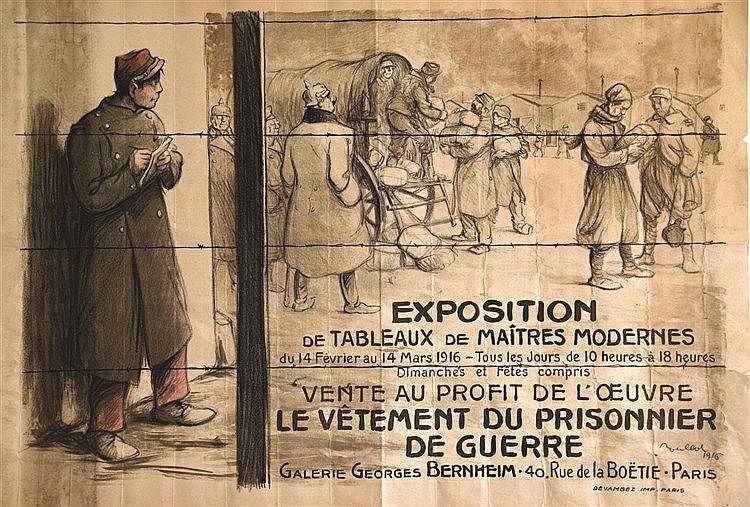 POULBOT  Le Vêtement du Prisonier de Guerre     1916