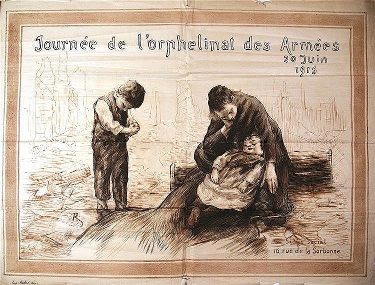 R.  Journée de L'Orphelinat des Armées 20 juin 1915     1915