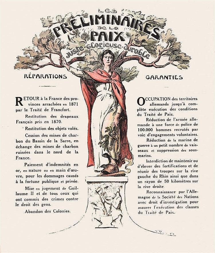 PROUVE VICTOR Les Préliminaires de la Paix 1919