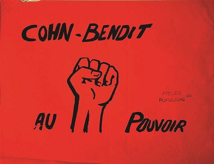 Cohn - Bendit au Pouvoir     1968
