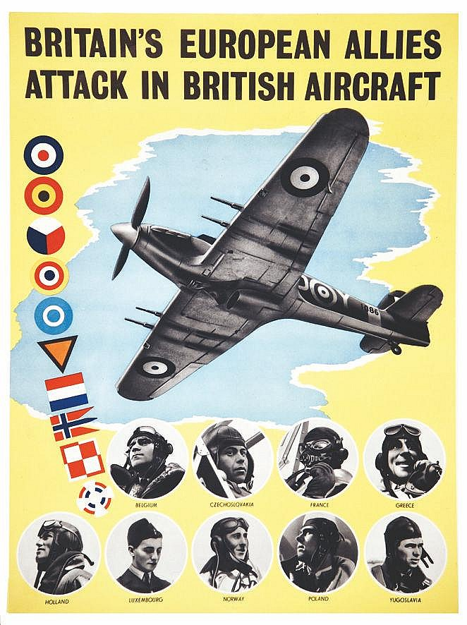Britain European A llies attack on British Aircraf     vers 1940
