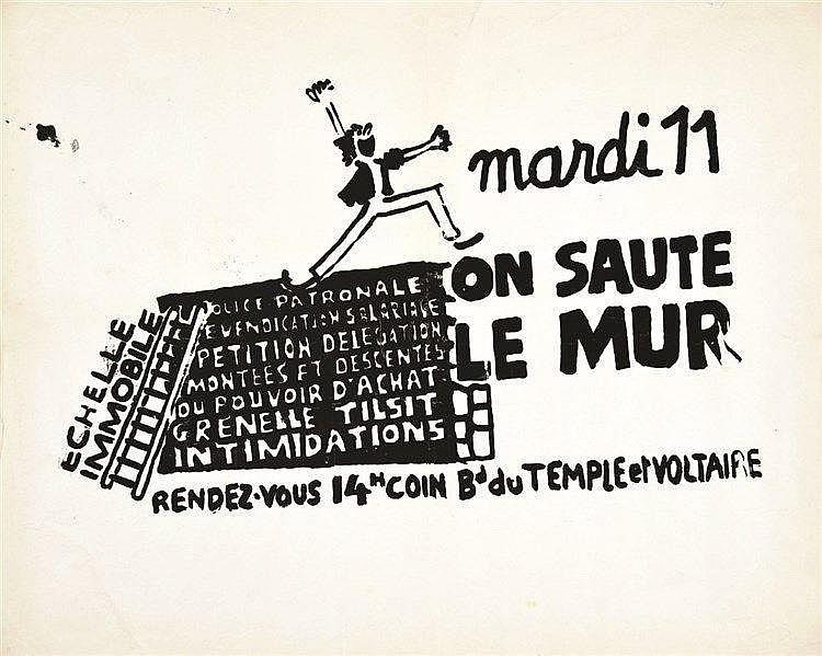 TILSIT GRENELLE  Mardi 11 on saute le mur     1968