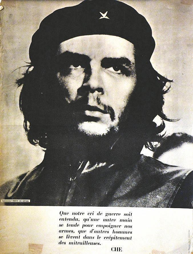 Commandante Ernesto Che Guevara vers 1970