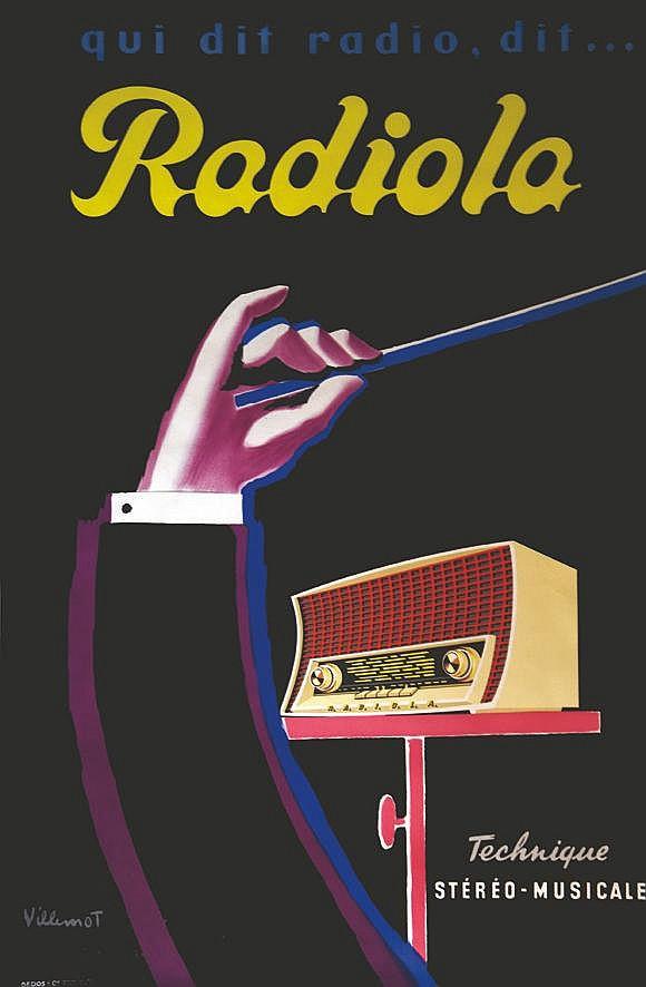 VILLEMOT BERNARD Radiola 1959