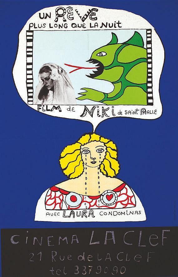 SAINT PHALLE Niki de  Niki de Saint Phalle - Un rêve plus long que la nuit     1976