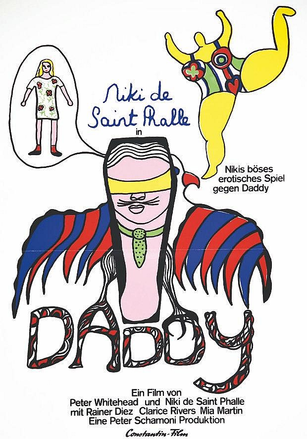 SAINT PHALLE Niki de  Daddy Niki de Saint Phalle - très rare     1973