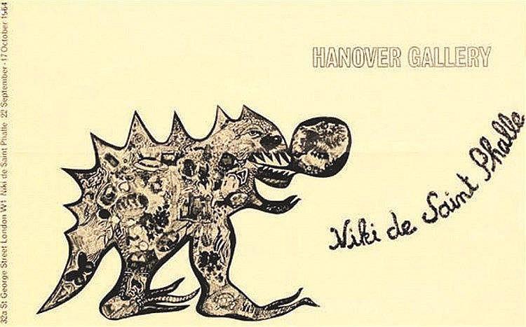 SAINT PHALLE Niki de Niki de Saint Phalle 1964