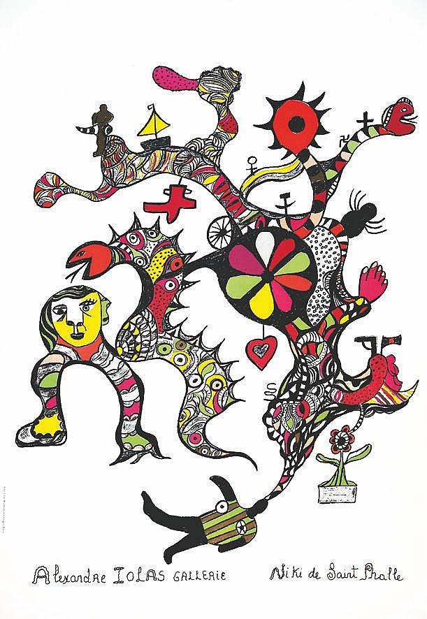 SAINT PHALLE Niki de Alexandre Iolas vers 1970