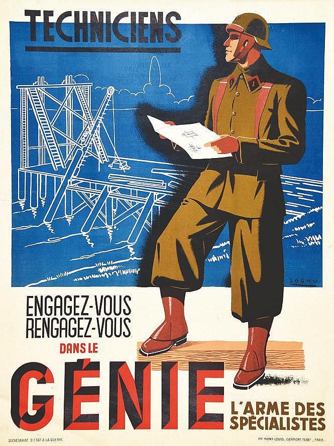 SOGNO  Techniciens  de l'Armée Nouvelle     1941