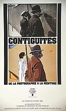ARROYO EDOUARDO  Contiguités de la Photo à la Peinture Centre Nat. De la Photographie     1984