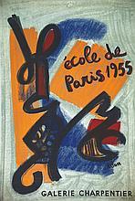 ATLAN  Atlan - Ecole de Paris     1955