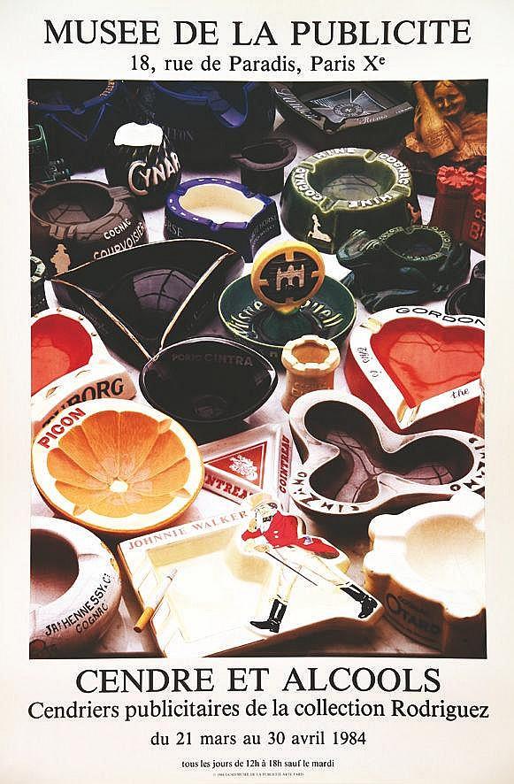 Cendre et Alcools Musée de la Publicité     1984