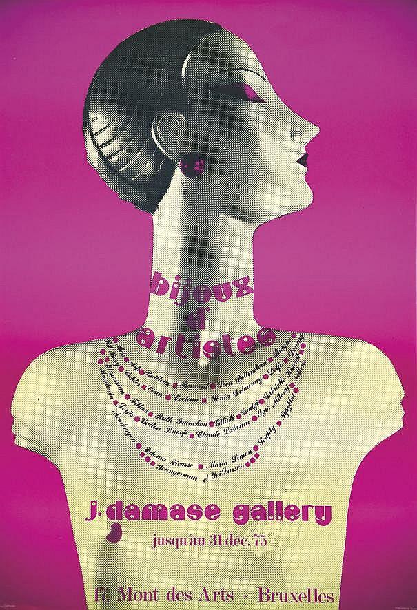 Bijoux d'Artistes J Damase Gallery     1975