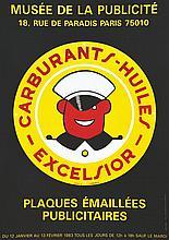 Plaques Emaillées Publicitaires Musée de la Publicité     1983