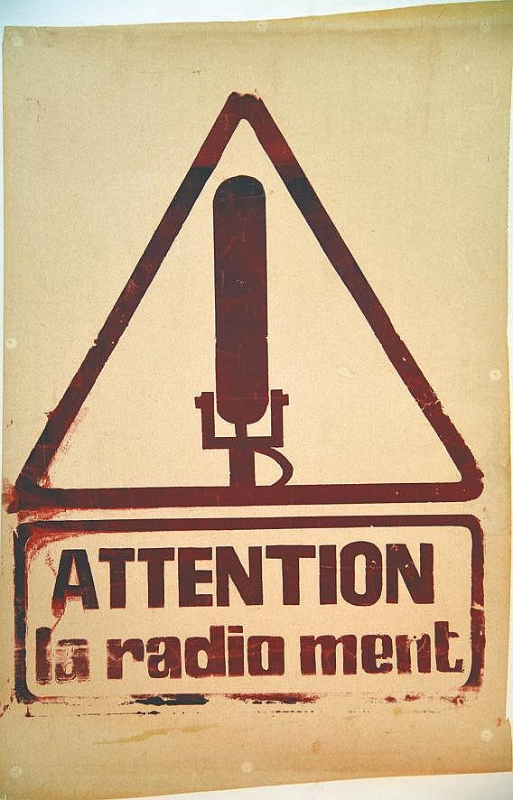Attention la Radio ment 1968