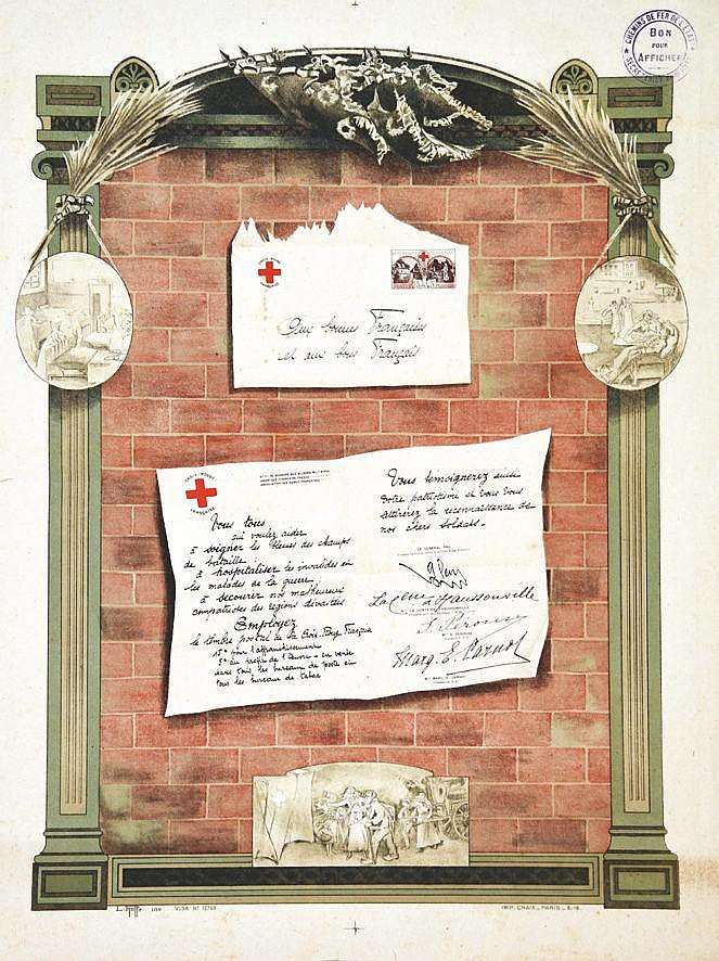 RUFFE L.  Croix Rouge Française     1918