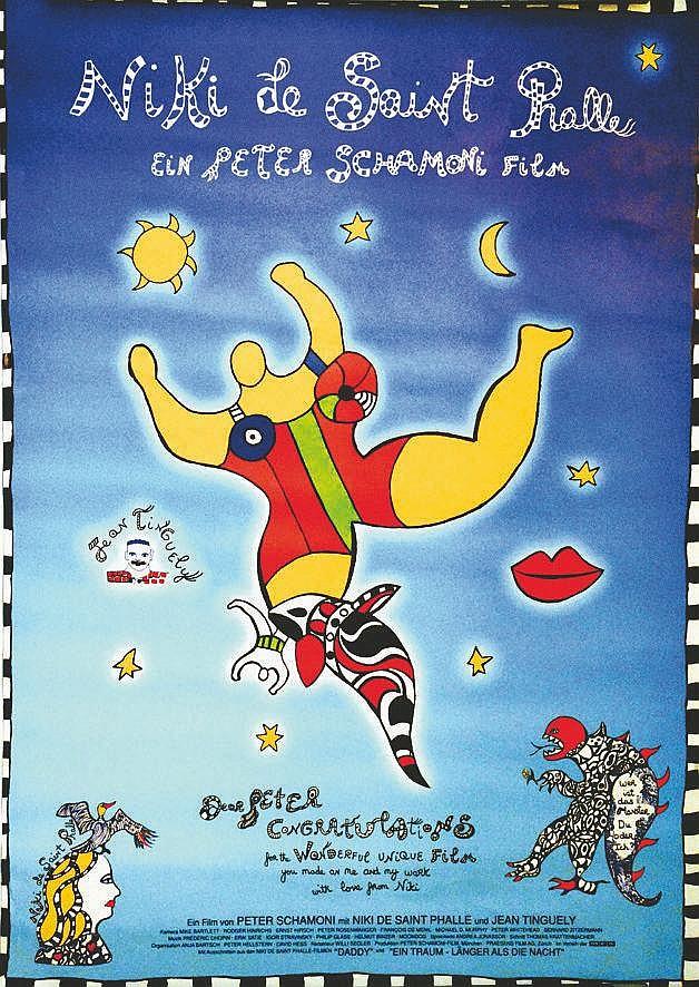 SAINT PHALLE Niki de Niki de Saint Phalle Film - Ein Peter Schamoni Film NFA. 1996