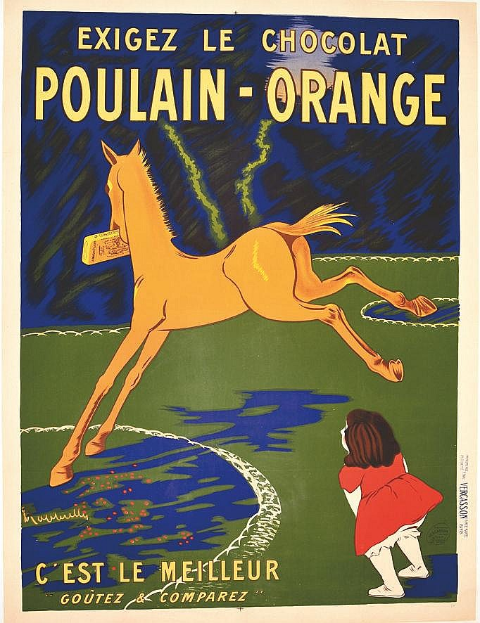 CAPPIELLO LEONETTO  Poulain - Orange - C'est le meilleur     1911