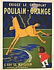 CAPPIELLO LEONETTO  Poulain - Orange - C'est le meilleur     1911, Leonetto Capiello, €800