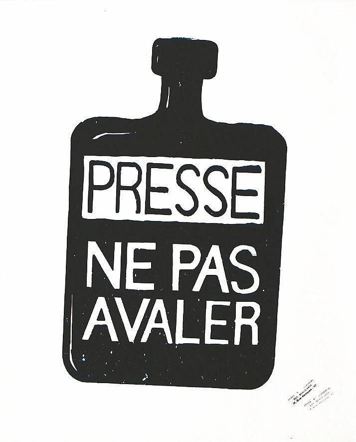 Presse - Ne pas avaler 1968