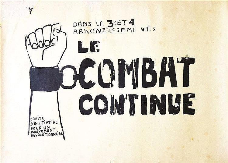 Le Combat continue     1968