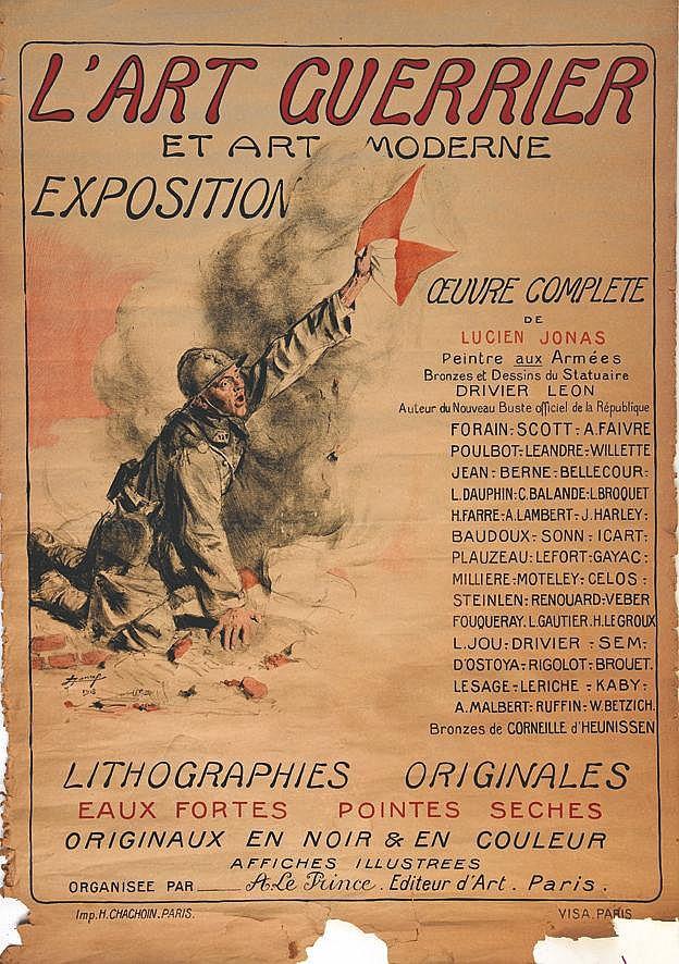 L'Art Guérrier et Art Moderne vers 1916