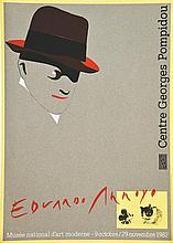PASCAL GUTH - EDOUARDO ARROYO  Edouardo Arroyo Centre George Pompidou     1982