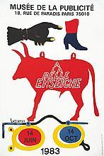 LAGRANGE ANDRE  A la Belle Enseigne 1983 Musée de la Publicité     1983