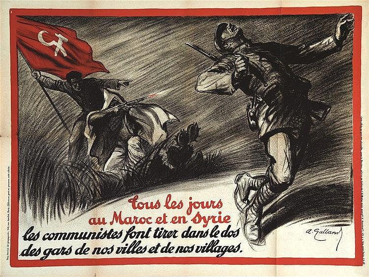 GALLAND ANDRE  Tous les jours au Maroc et en Syrie     vers 1930