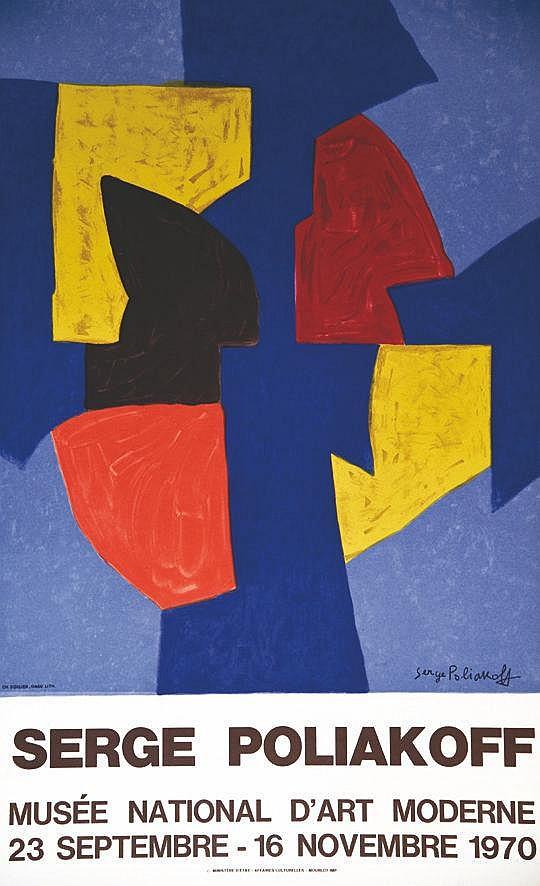 POLIAKOFF SERGE  Serge Poliakoff     1970