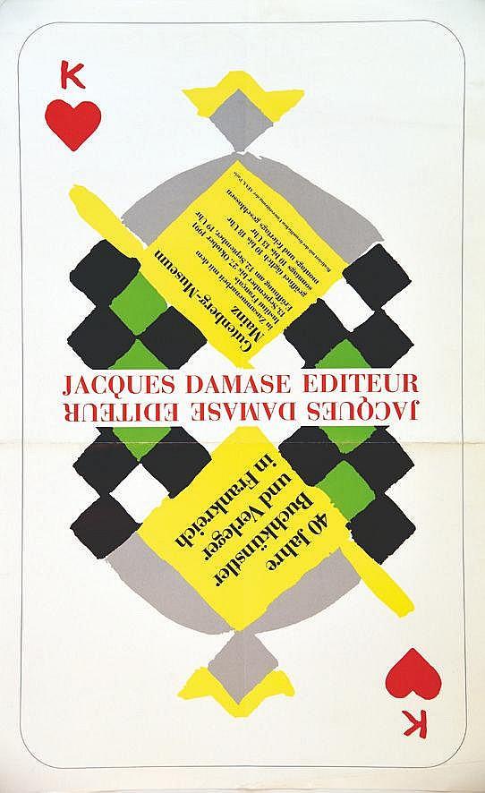 DELAUNAY SONIA  Jacques Damase Editeur Gutenberg Museum Mainz     1991