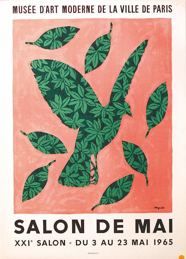 MAGRITTE  Magritte Salon de Mai 1965     1965