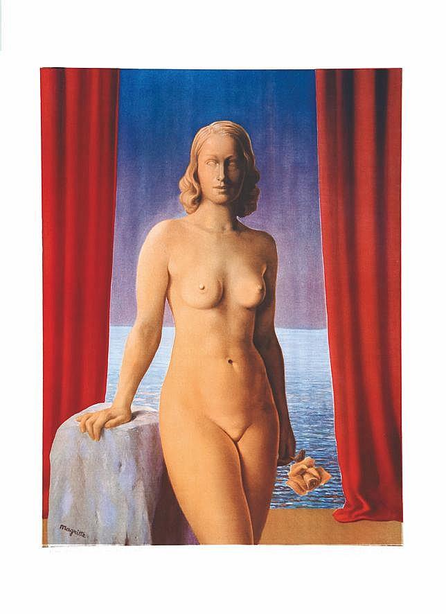 MAGRITTE RENE  René Magritte: Les Fleurs du Mal - Collections du Jardin de l'Infante     vers 1960