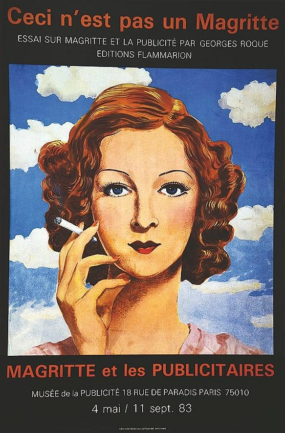 ROCQUE GEORGES  Magritte et les Publicitaires 1983     1983