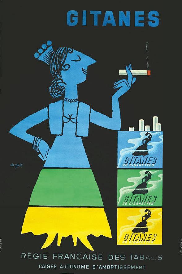 SAVIGNAC RAYMOND  Gitanes     vers 1950