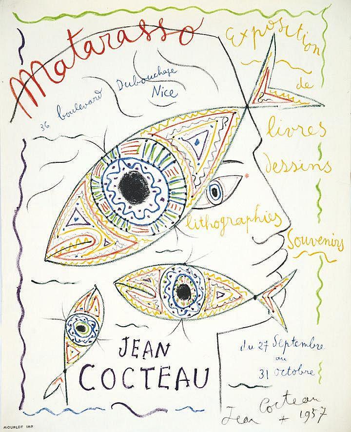 COCTEAU JEAN Jean Cocteau Matarasso 1957
