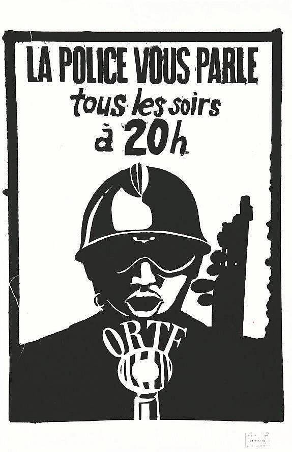 La Police vous parle tous les soirs à 20 h ORTF     1968