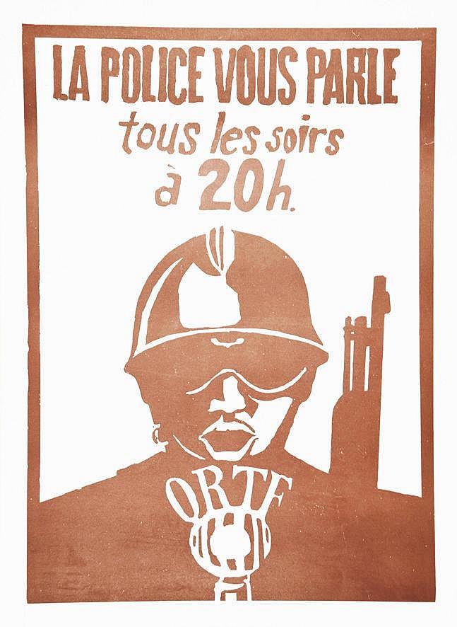 La Police vous parle tous les soir à 20h ORTF 1968