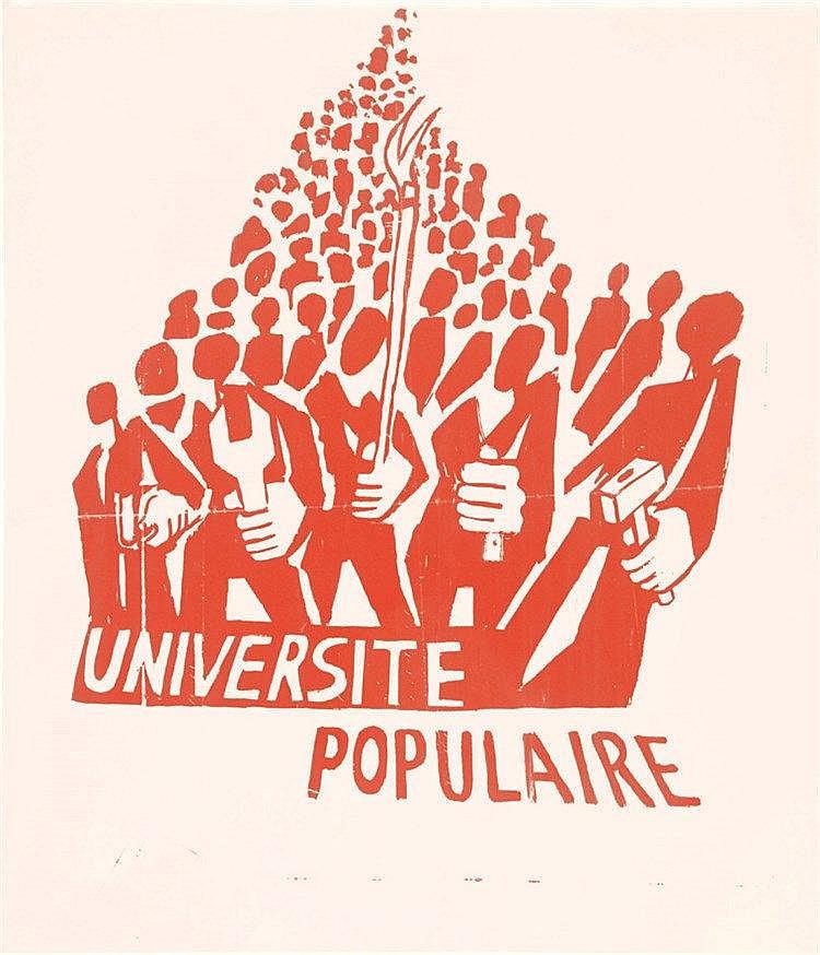 Université Populaire ( Nanterre ) 1968