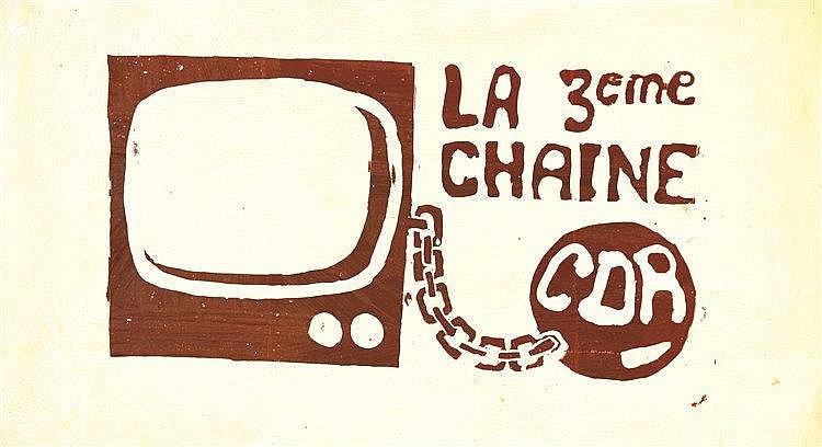 La 3 ème Chaine CDR 1968